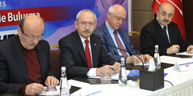 Kılıçdaroğlu'nun veli toplantısı