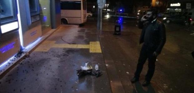 Kilis'te belediye önünde bomba paniği