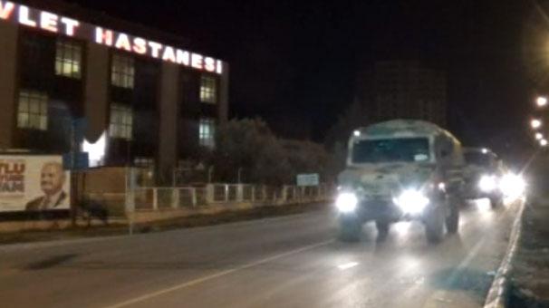 Kilis'te dün gece elektrik hatları kesildi...