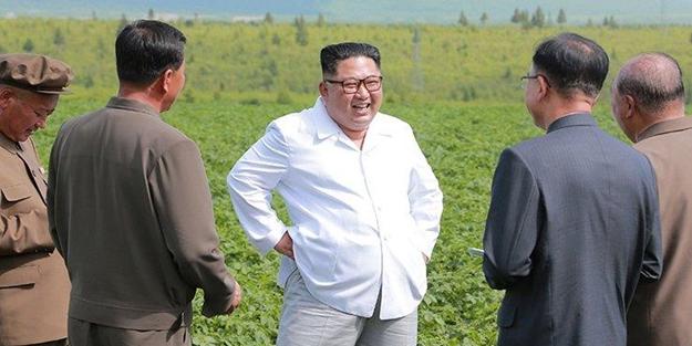 Kim Jong-Un, Pompeo'yu böyle ekti: Tarlada işim var