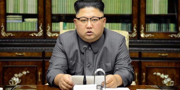 Kim Jong'un yeni yıl mesajında dikkat çeken detay! ABD'ye karşı askeri...