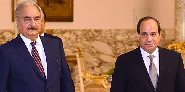 Kimse bunu beklemiyordu... Sisi'den Hafter'e büyük şok!