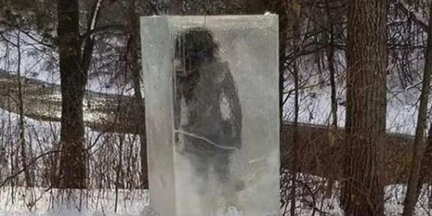 Kimse gözlerine inanamadı! Parkta donmuş halde bulundu