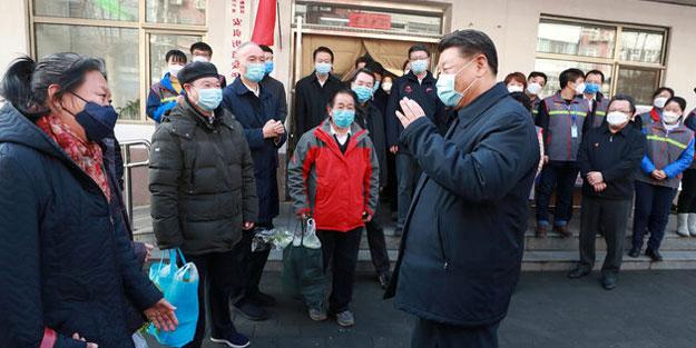 Kimseyle el sıkışmadı! Günler sonra ortaya çıkan Çin Devlet Başkanı'nın koronavirüs korkusu