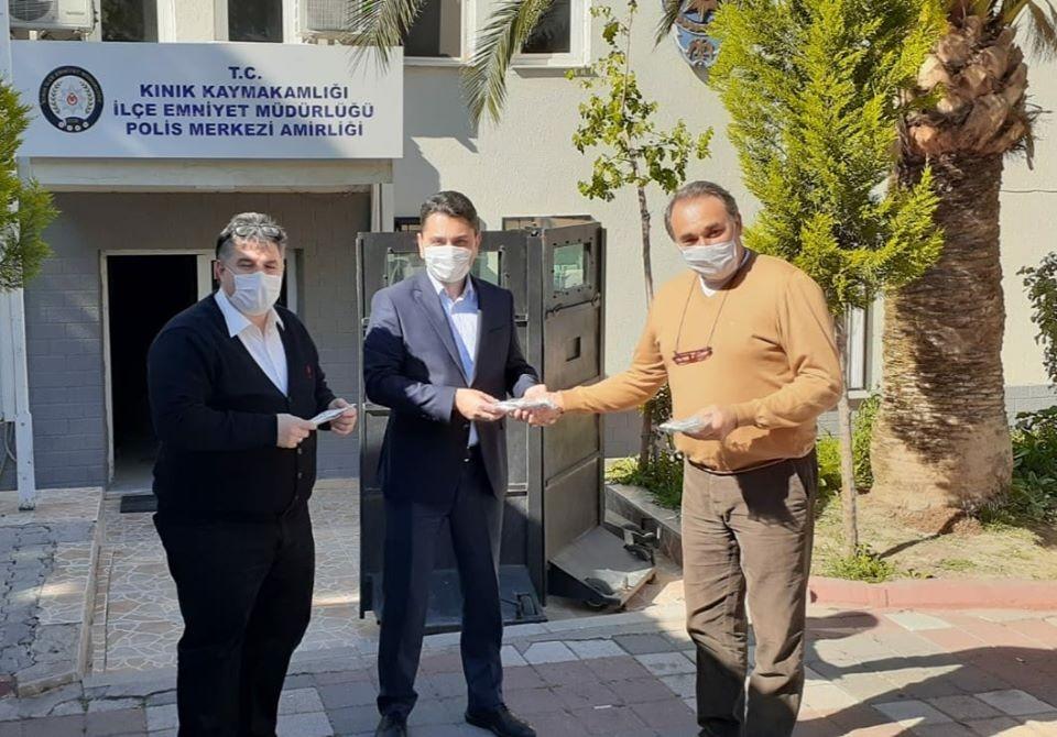 Kınıklı iş adamından korona virüsü ile mücadeleye destek