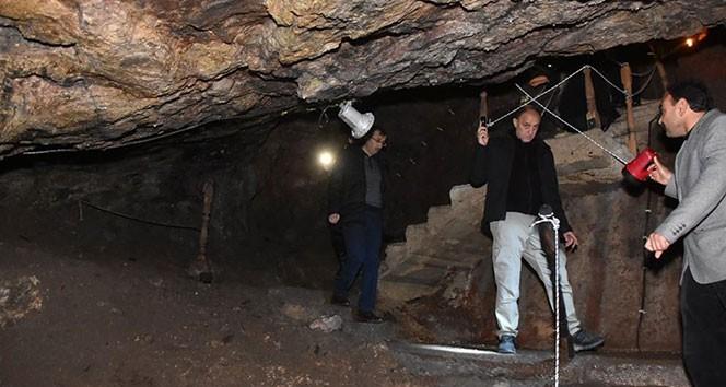 Kırıkkale'de Bizans döneminden kalan Sulu Mağara, turizme kazandırılıyor