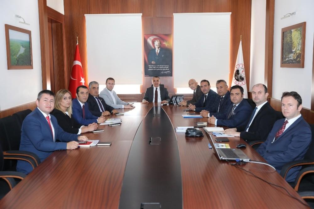 Kırklareli'de Tarım Organize Sanayi Bölgesi için start verildi