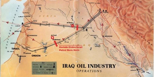Kirli tezgah deşifre oldu: Kerkük petrolü İsrail'e akacak