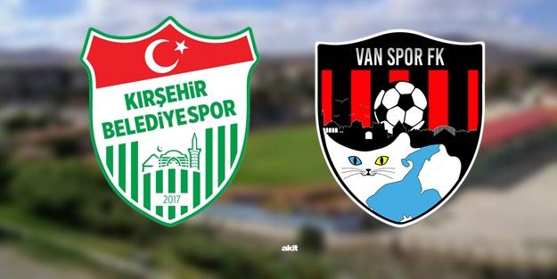 Kırşehir Belediye Vanspor maçı ne zaman, saat kaçta, hangi kanalda?