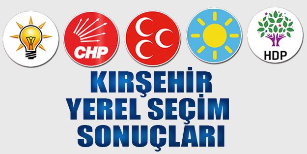 Kırşehir yerel seçim sonuçları 2019 | Kırşehir ilçeleri yerel seçim sonuçlar