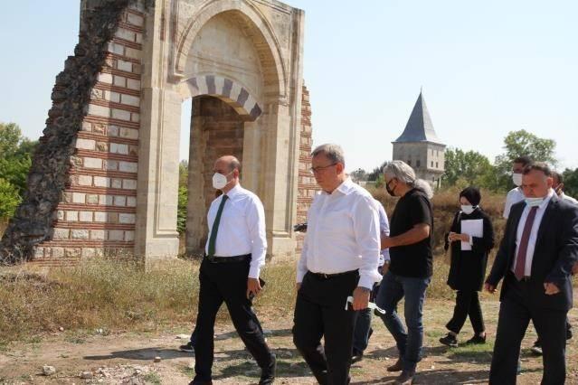 Kısa sürede gün yüzüne çıkarılacak! Edirne Sarayı'nda geri sayım