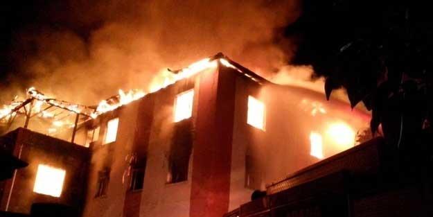 Kız öğrenci yurdundaki yangında 12 kişi hayatını kaybetti