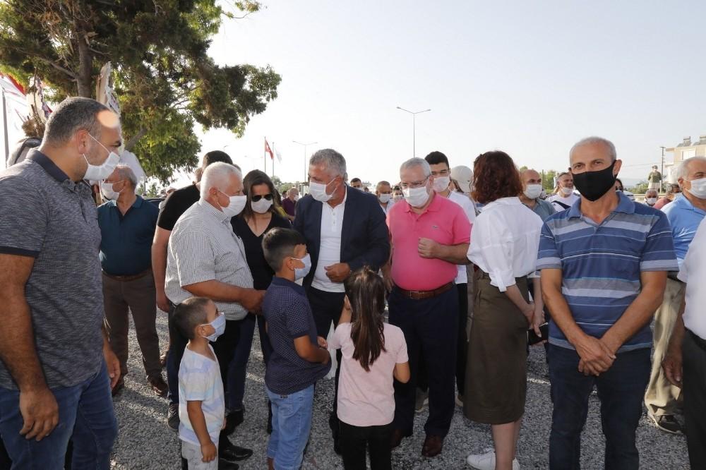 Kızılot Halk Plajı ve Mesire Alanı törenle açıldı