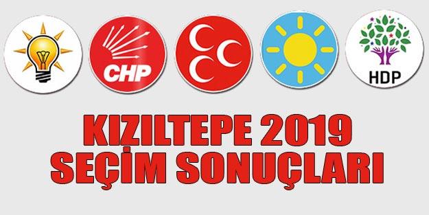 Kızıltepe seçim sonuçları 2019 | Mardin Kızıltepe 31 Mart seçim sonuçları oy oranları
