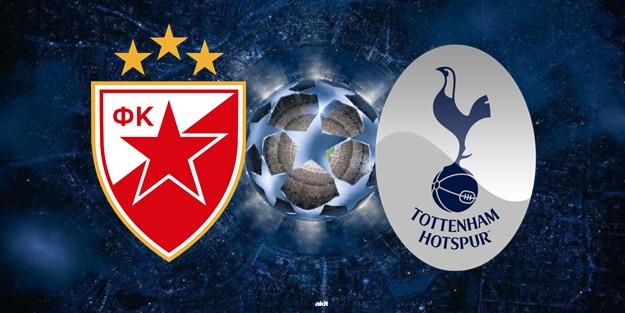 Kızılyıldız Tottenham maçı ne zaman saat kaçta hangi kanalda?