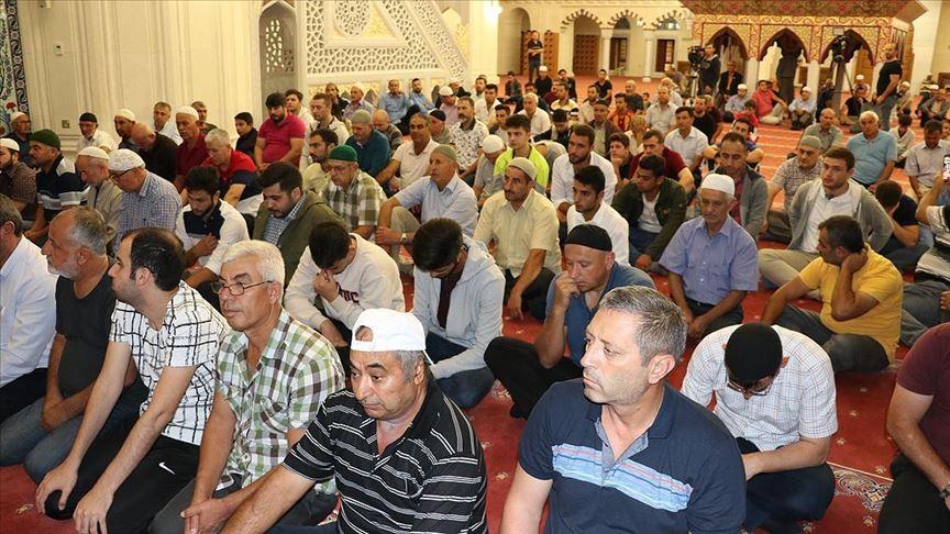 KKTC'de Mehmetçik için zafer duası yapıldı