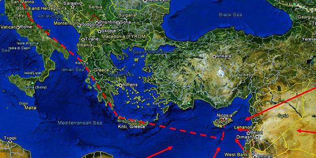 KKTC'den Yunanistan'a Eastmed resti: Türkiye'nin onayı olmadan uygulanamaz