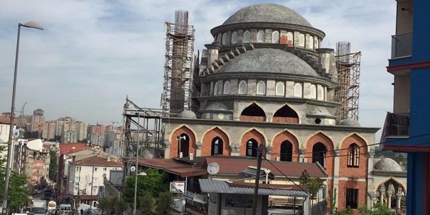 Koca İstanbul bir camiyi 10 yılda tamamlayamadı!
