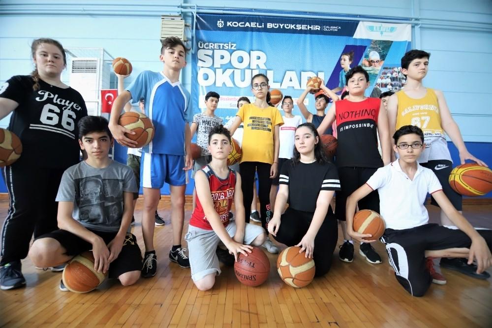 Kocaeli Büyükşehir Belediyesi, 41 binden fazla öğrenci sporla tanıştırdı