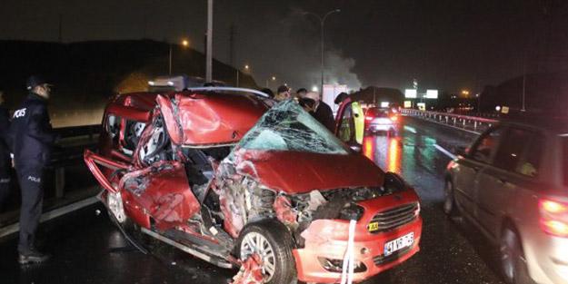 Kocaeli'de feci kaza! 1 ölü 5 yaralı
