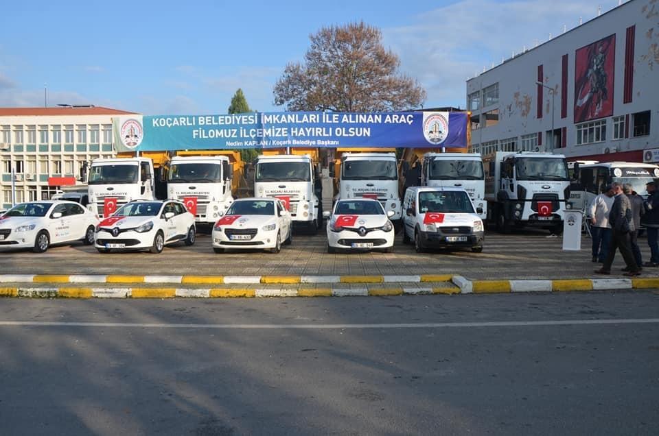 Koçarlı Belediyesi araç filosunu genişletiyor