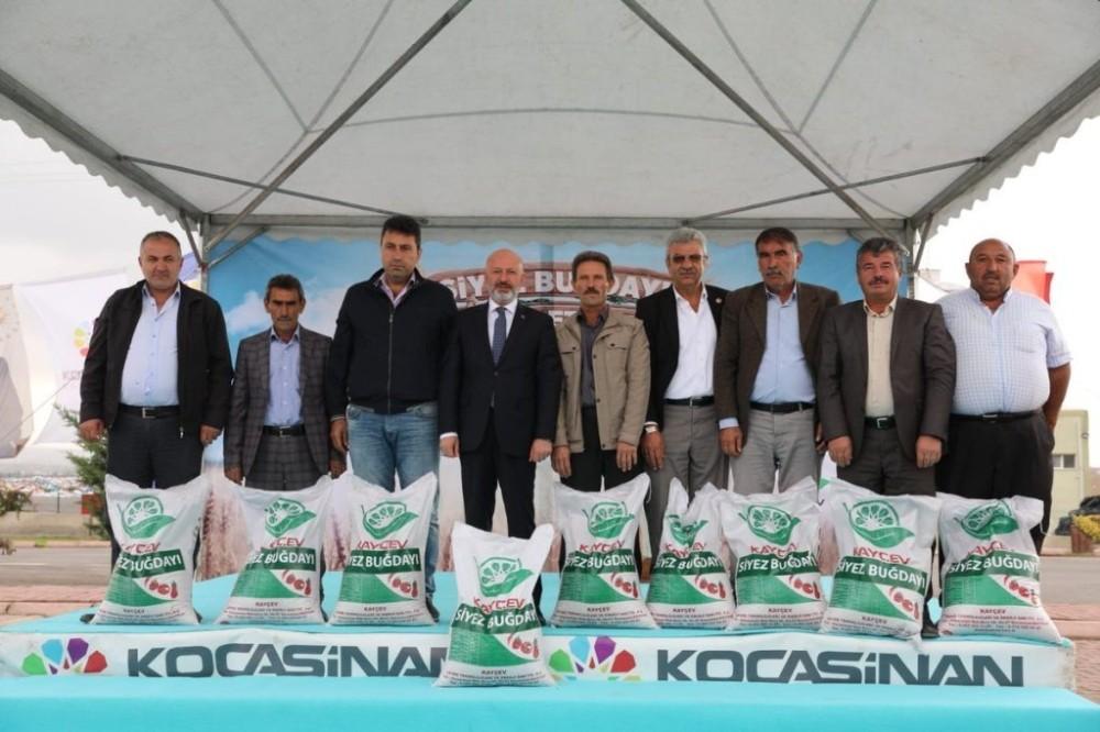 Kocasinan Belediyesi, tarımsal kalkınmaya destek oluyor
