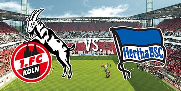 Köln Hertha Berlin maçı ne zaman saat kaçta hangi kanalda? Bundesliga 6. hafta