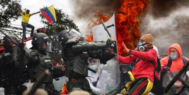 Kolombiya'da neler oluyor? Kolombiya halkı neyi protesto ediyor?