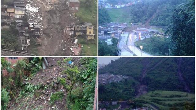 Kolombiya'da toprak kayması: 17 kişi öldü