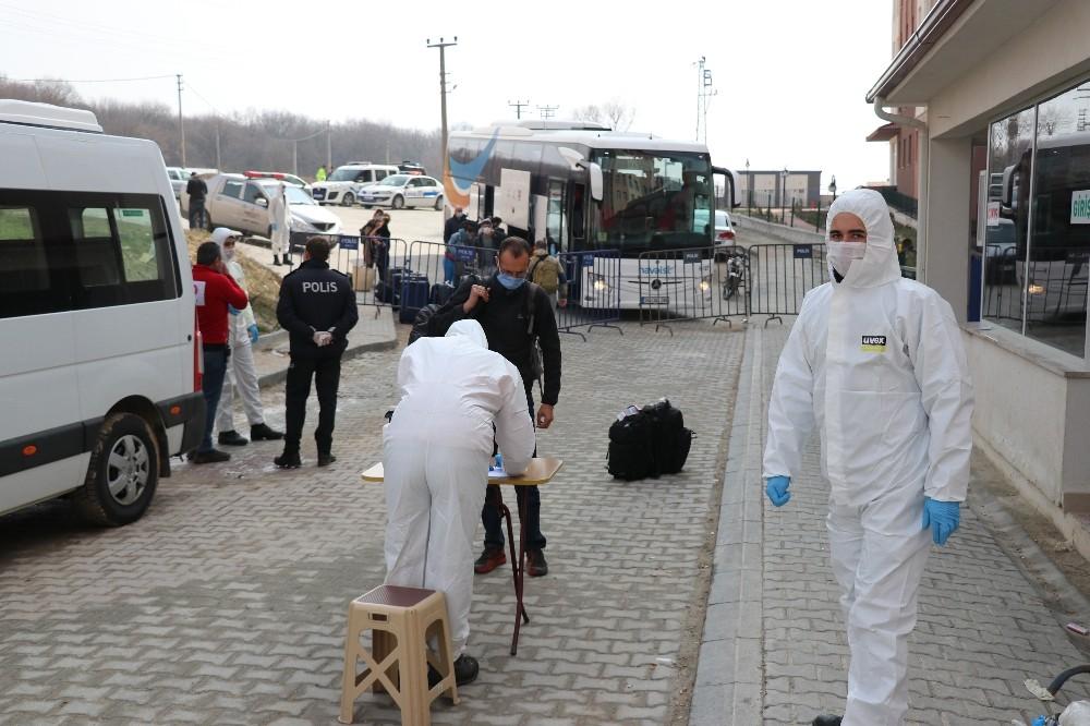 Kolombiya'dan gelen 10 kişi Bolu'da karantinaya alındı
