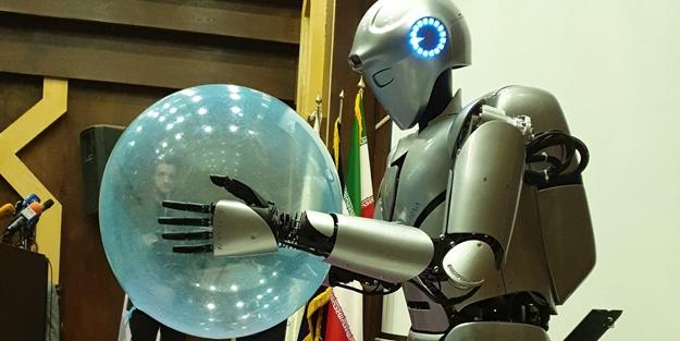 Komşu insansı robot yaptı! Görme ve tanıma yeteneği var