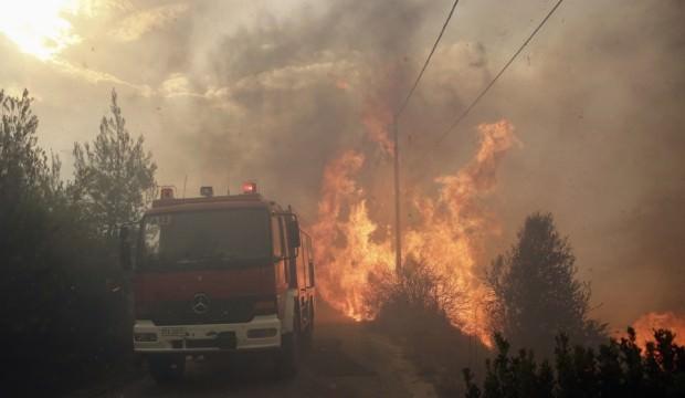Komşuda orman yangını: 50 ölü 156 yaralı