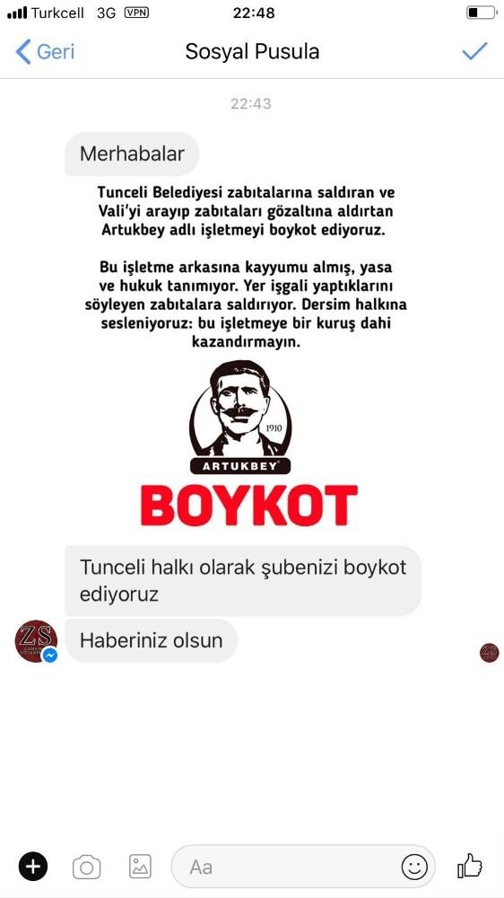 Komünist başkandan bu kez milli firma için boykot çağrısı