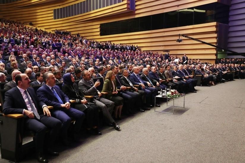 Kongrede, Büyükşehir Belediyesi'nin projeleri öne çıktı