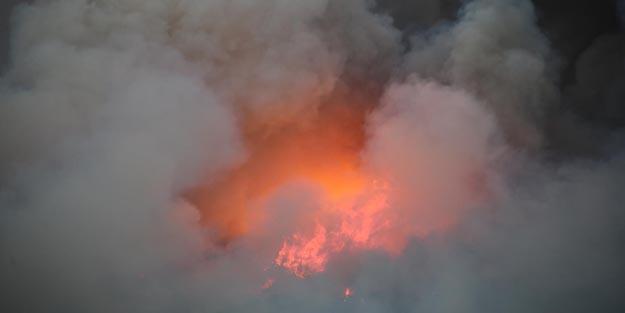 Kontrol altına alınamadı! Yangın yerleşim yerlerini tehdit ediyor