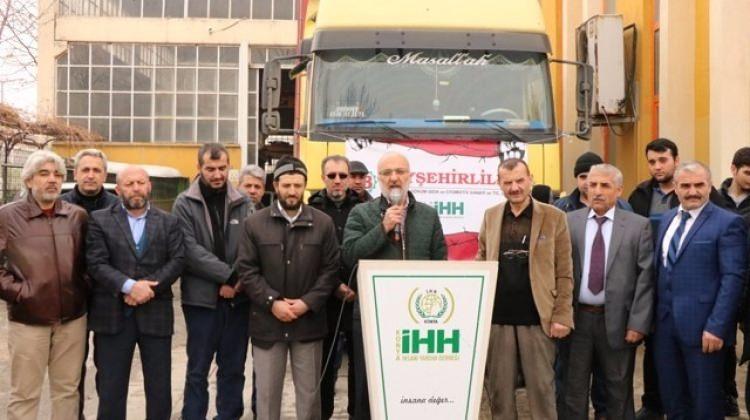 Konya İHH'dan Suriyelilere yardım seferberliği!