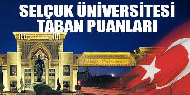 Konya Selçuk üniversitesi taban puanları 2019