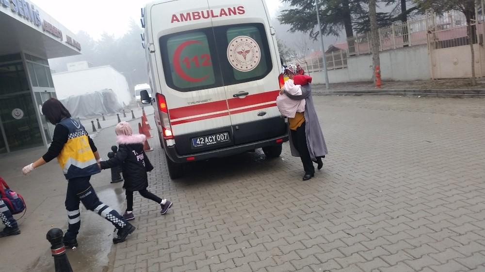 Konya'da 2 ayrı trafik kazası: 4 yaralı