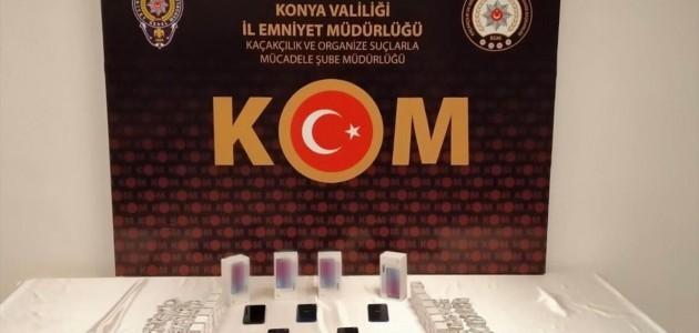 Konya'da 692 bin 476 kaçak tıbbî ilâç ele geçirildi