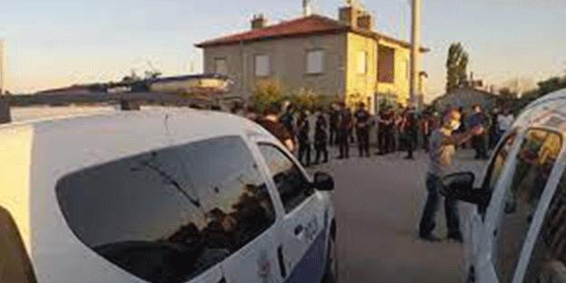 Konya'da çıkan silahlı kavgada 3 kişi yaralandı