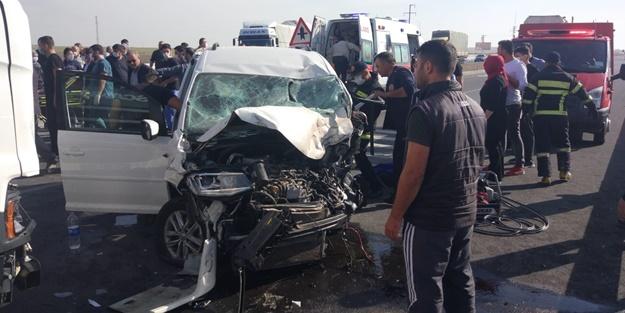Konya'da feci kaza! Ölü ve yaralılar var