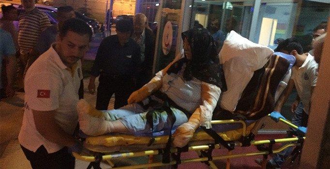 Konya'da gaz kaçağını çakmakla kontrol eden yaşlı kadın yandı