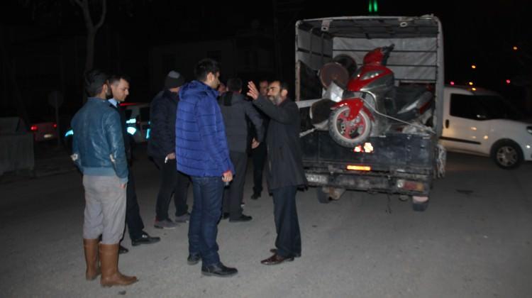 Konya'da hırsızları takip ederek polislere yakalattı