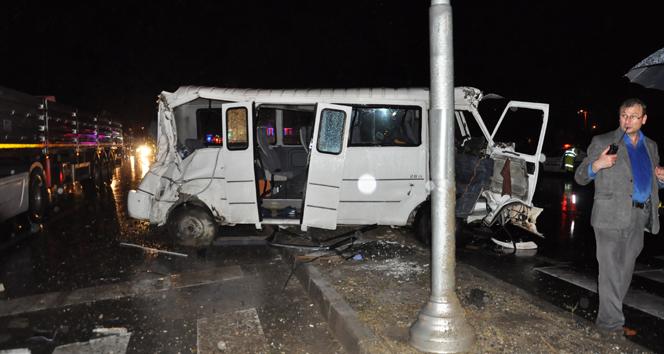 Konya'da korkunç kaza! Çok sayıda yaralı var