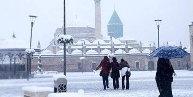 Konya'da yarın okullar tatil mi? Konya 10 Aralık Cuma günü kar tatili olacak mı?