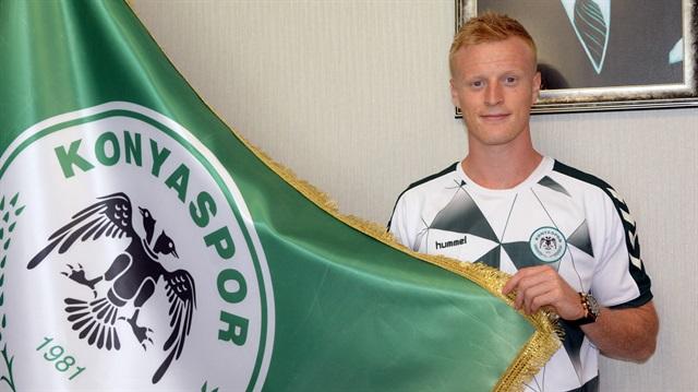 Konyaspor'a Danimarkalı orta saha:  Jonsson
