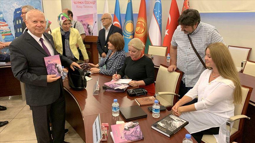 'Kopan Üzengi' kitabı Macaristan'da tanıtıldı