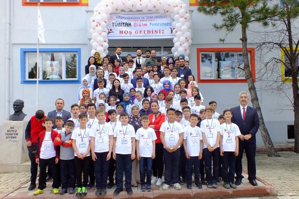Köprüören Tek Termik Ortaokulu'ndan örnek proje