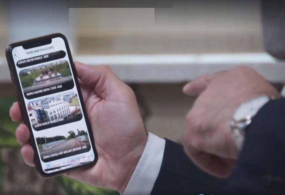 'Körfez Belediyesi Cep Mobil' kullanıma açıldı