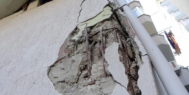 Korku dolu anlar... Herkes deprem zannetti: Gürültüyle patladı